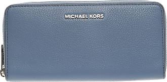 Wallet for Women On Sale, Denim Blue, Leather, 2017, One size Michael Kors