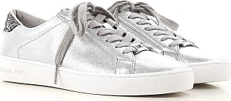 Sneakers for Women On Sale, Silver, Leather, 2017, US 9 (EU 40) US 8.5 (EU 39) Michael Kors
