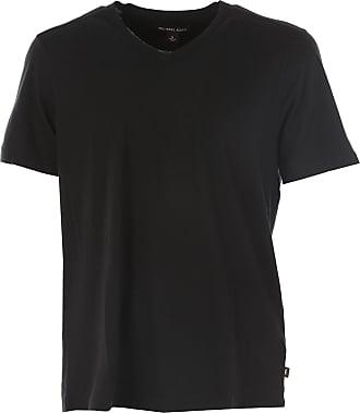 Camiseta de Hombre Baratos en Rebajas, Gris, Algodon, 2017, M S XS Michael Kors