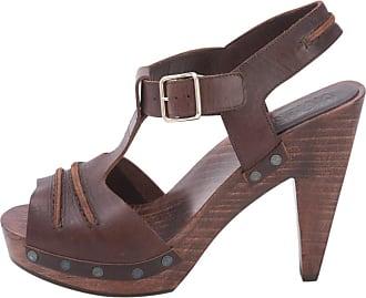 Pre-owned - Leather sandals Michel Vivien