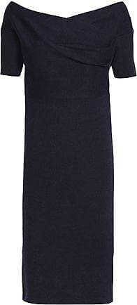 Michelle Mason Woman Stretch-knit Dress Bright Blue Size XS Michelle Mason