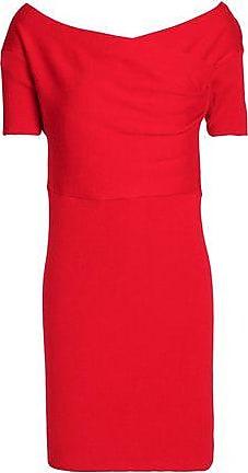 Michelle Mason Woman Draped Stretch-knit Mini Dress Red Size S Michelle Mason