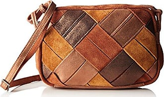 Oluna Safran, Womens Cross-Body Bag, Jaune (Safran), 6x32x28 cm (W x H L) Mila Louise