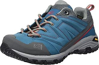 LD Rock Up, Zapatos de Escalada para Mujer, Gris (Metal Grey/Pool Blue 8540), 40 2/3 EU Millet