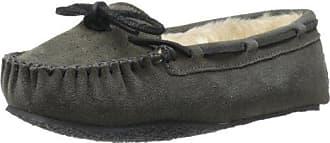 Minnetonka Chrissyie, Zapatillas de Estar por Casa para Mujer, Gris (Greygrey), 41 EU