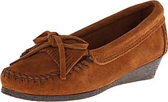 Minnetonka Minnetonka Thunderbird II - Zapatos para Mujer, Color Marrón, Talla 38