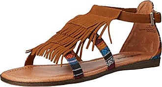 Silverthorne - Chanclas Mujer, Color Multicolor, Talla 38 EU Minnetonka