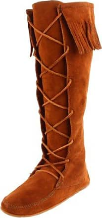 Front Knee Hi, Bottes Indiennes femme, Marron (Brown), 35 EUMinnetonka