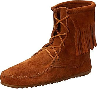 Minnetonka Chukka Wedge Boot - Bota mocasín, color Dusty Brown, talla 40 EU/7 UK/9 US