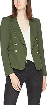 Miss Selfridge Military, Chaqueta para Mujer, Verde (Khaki Khaki), 36
