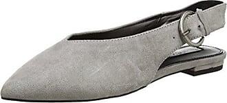 Miss Selfridge 51G06UGRY - Zapatos de tacn con Punta Cerrada de Material Sintético Mujer, Color Gris, Talla 38 Miss Selfridge