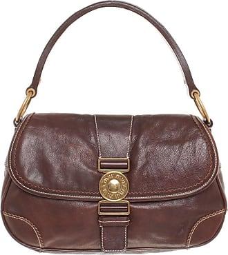 gebraucht - Graue Handtasche - Damen - Leder Miu Miu