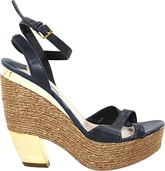 Sandales en velours à plateformeMiu Miu