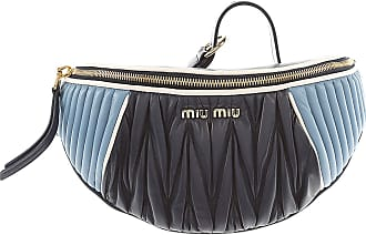Shoulder Bag for Women On Sale, Astral Blue, Leather, 2017, one size Miu Miu