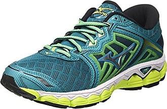 Mizuno Wave Hayate 4 Wos, Chaussures de Running Femme, Multicolore (Black/Silver/Clover 03), 42 EU