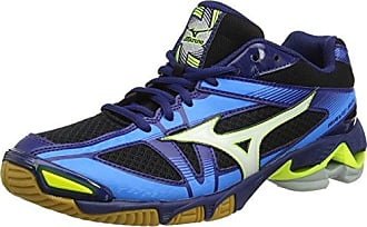 Mizuno Wave Bolt 6 Mid, Scarpe da Ginnastica Uomo, Arancione (Orange Clown Fish/White/Blue Depths), 42 EU
