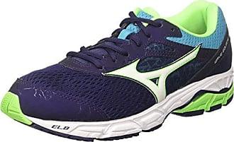 Synchro MX - Chaussures de Running Compétition - Homme - Gris (Periscope/Darkshadow/Greengecko) - 44.5 EU (10 UK)Mizuno