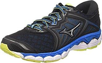Mizuno Wave Sky, Chaussures de Running Homme, Multicolore (Imperialblue/Redorange/Black), 42.5 EU