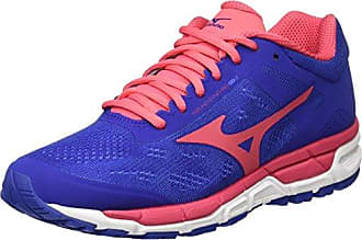 Mizuno Synchro MX, Chaussures de Running Homme, Multicolore (Bluedepths/Fiesta/Imperialblue), 46 EU
