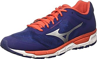 Mizuno Synchro MX, Chaussures de Running Homme, Multicolore (Black/Chinesered/Tileblue), 41 EU