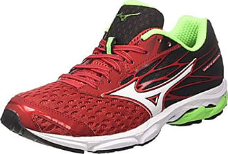 Wave Sonic, Zapatillas de Running para Hombre, Multicolor (Formulaone/Black/Greenslime 13), 44 EU Mizuno