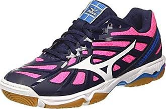 Mizuno Wave Equate 2 Wos, Chaussures de Running Femme, Rouge (Blackwhiteturquoise), 40.5 EU