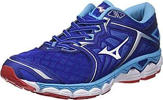 Mizuno Wave Paradox, Chaussures de Running Homme, Multicolore (Bluedeptths/White/Safetyyellow), 44.5 EU