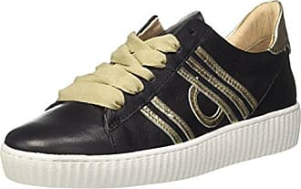 Mjus 685127-0102-0003, Zapatillas para Mujer, Multicolor (Nero+Platino 0003), 36 EU