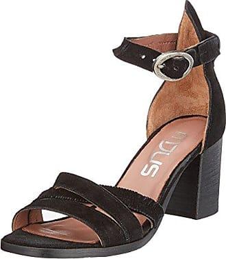Mjus 809003-0301-0001, Sandalia con Pulsera para Mujer, Negro (Nero+Argento 0001), 41 EU