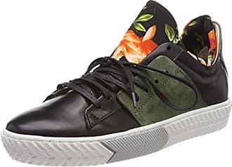 Mjus 823102-0101-0001, Zapatillas para Mujer, Negro (Argento+Nero+Argento 0001), 38 EU