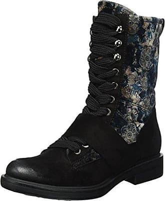 544206-0301-6002, Zapatillas de Estar por Casa para Mujer, Negro (Nero), 37 EU Mjus