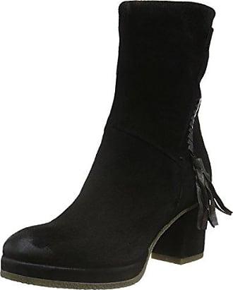 Mjus 270204-0102-6002, Zapatillas de Estar por Casa para Mujer, Negro (Nero), 36 EU