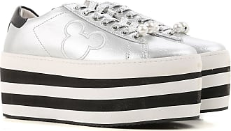 Sneakers for Women On Sale, White, Leather, 2017, 3.5 4.5 5.5 MOA Master Of Arts