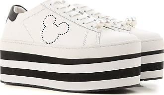 Sneakers for Women On Sale, White, Leather, 2017, 4.5 MOA Master Of Arts