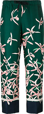 floral print trousers - Green Moncler