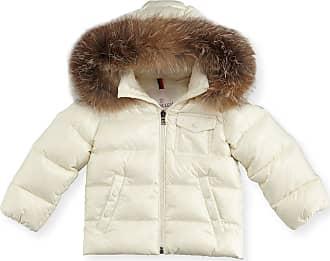 0b57f3a97 shop moncler bellco fur trim puffer coat zara 0ced9 c178c