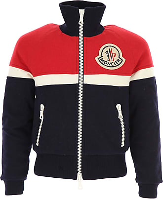 Sweater for Men Jumper On Sale in Outlet, Red, Cotton, 2017, XS Moncler
