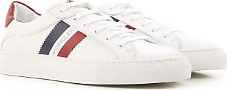 Sneakers for Women On Sale, White, Leather, 2017, 8.5 Moncler