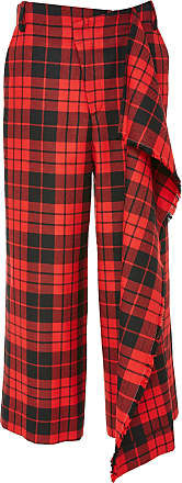 Trouser With Flare & Fringe Monse