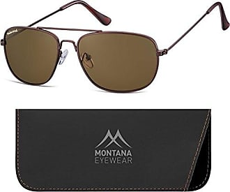 Montana MP93, Occhiali da Sole Unisex-Adulto, Multicolore (Coffee + Brown Lenses), Etichettalia unica