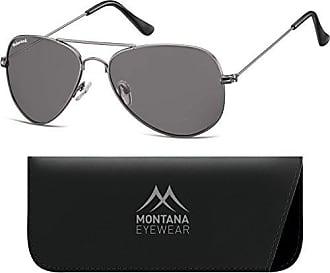 Montana MP94, Lunettes de Soleil Mixte, Multicolore (Gunmetal + G15 Lenses), Taille Unique