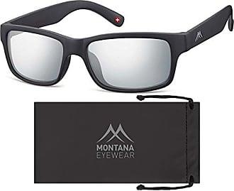Montana MS94, Lunettes de Soleil Mixte, Multicolore (Gunmetal + Revo Silver), Taille Unique