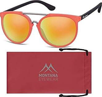 Montana MS34, Lunettes de Soleil Mixte, Multicolore-Multicoloured (Red/Revo Red), 1