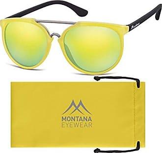 Montana MS28, Lunettes de Soleil Mixte, Multicolore (Yellow + Revo Yellow), Taille Unique