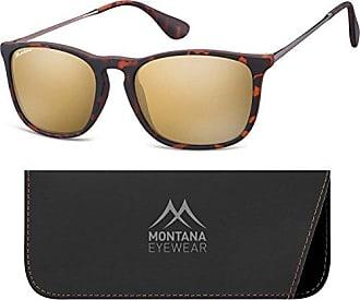 Montana MS27, Lunettes de Soleil Mixte, Multicolore (Black + Revo Silver Mirror), Taille Unique