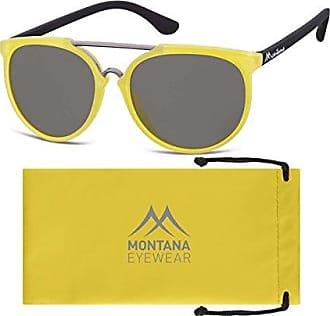 Montana MP30, Lunettes de Soleil Mixte, Multicolore (Black + Smoked Lenses), Taille Unique