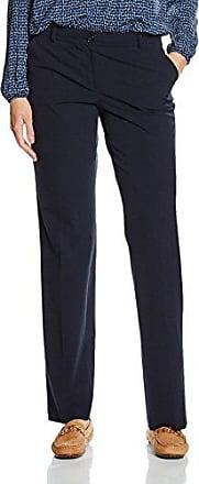 More & More Konfektionshose - Pantalón straight para mujer, talla 38, color azul marino