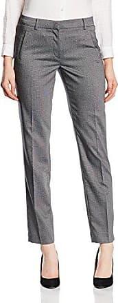 More & More Konfektionshose - Pantalón straight para mujer, talla 44, color gris (light grey m)