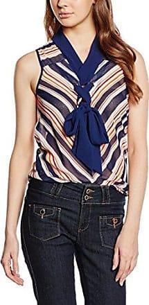 Oline - Débardeur - À rayures - Sans manche - Femme - Bleu (Marine) - FR: 38 (Taille fabricant: 38)Morgan