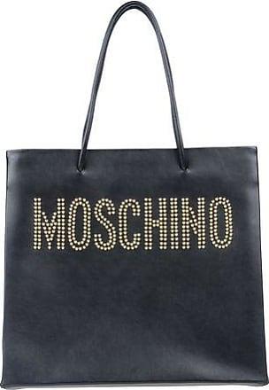 Moschino Sac Shopper Betty Boop en Cuir Camel